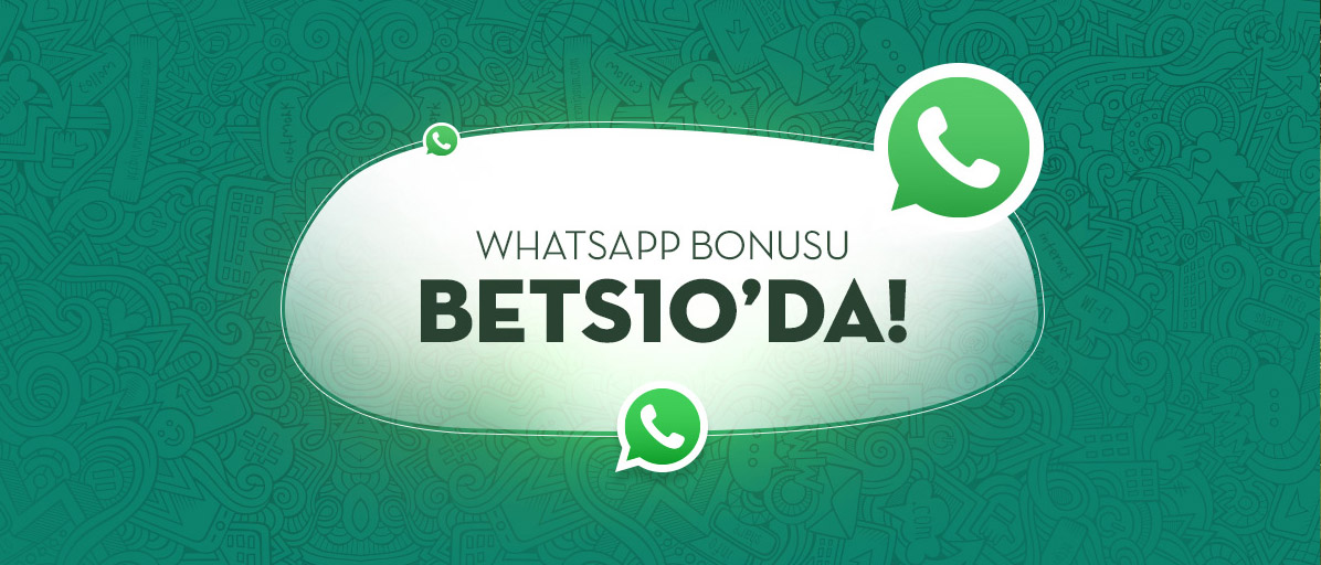 Bets10 Whatsapp Bonus